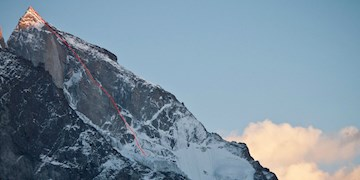 Lama & Siegrist: Neue Route am Cerro Kishtwar