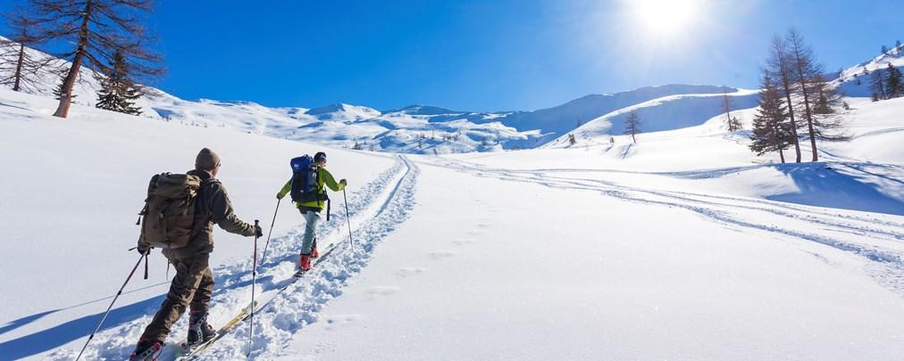 Auf Ski-Tour im Grossarltal