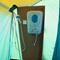 Auch Duschen war im Basislager möglich