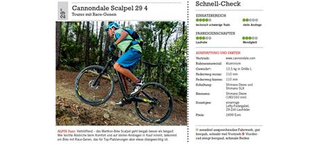 Produkttest Mountainbikes 2014