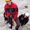 Olaf am Klettersteig mit dem neuen Skyrider-Modell