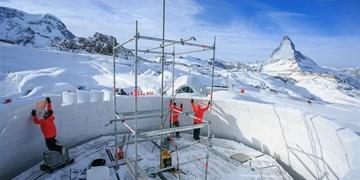 Zermatt baut größtes Iglu der Welt