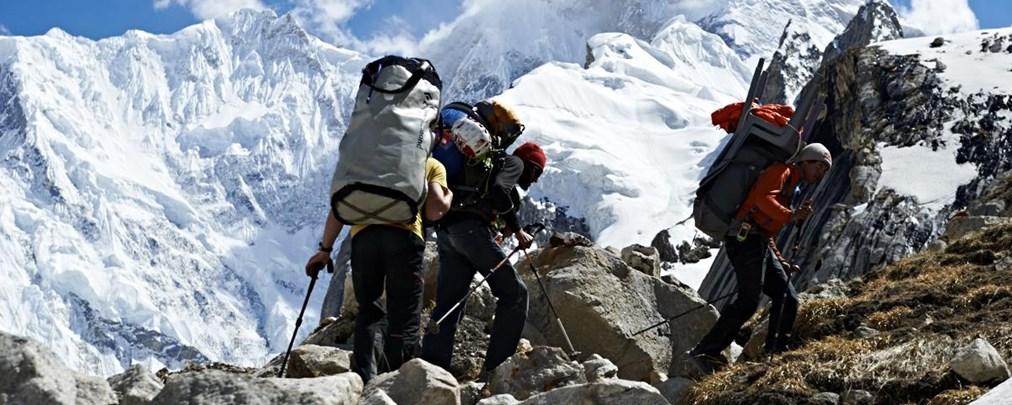 "David Lama meistert ""Kompressor-Route"" in freier Begehung"