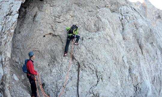 Klettersteig Eisenzeit : Die eisenzeit auf zugspitze bergführer