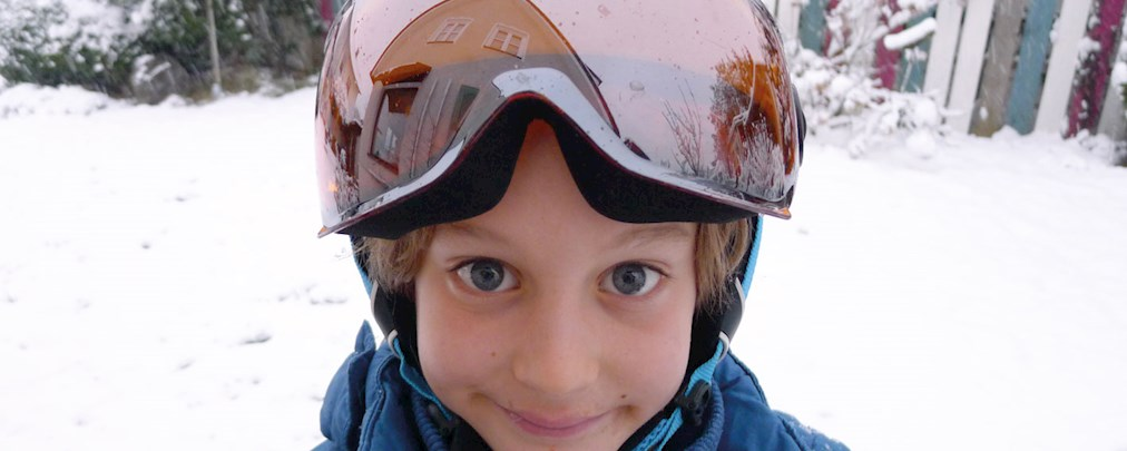 Kinder, Skihelm, Unvex Junior Visor Pro, Test