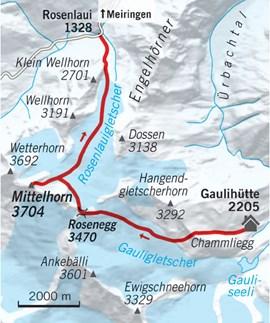 Tourentipp, Skitourentipp, Skitouren, Mittelhorn, Wetterhorn