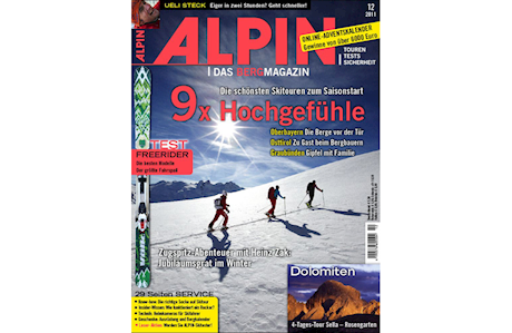 ALPIN 12/2011: Die schönsten Skitouren zum Saisonauftakt
