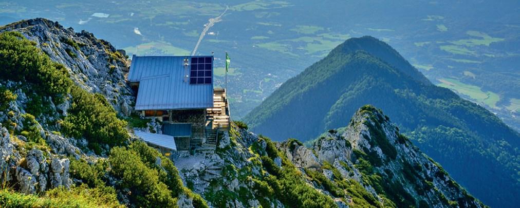 Hochstaufen, Chiemgauer Alpen, Steiner Alm, Reichenhaller Haus