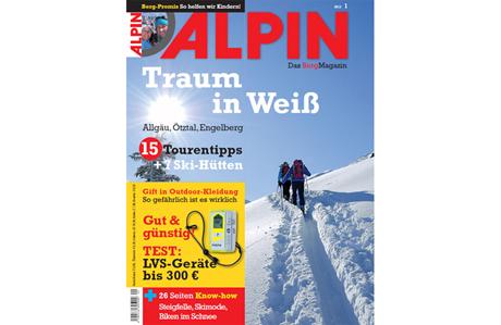 ALPIN 01/2013: Skitouren im Allgäu