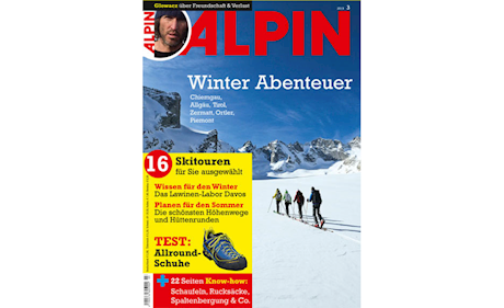 ALPIN 03/2013: Winter Abenteuer