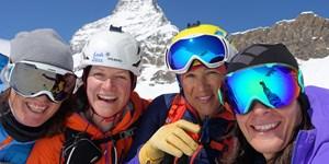 Video: Vier Frauen und ein Matterhorn