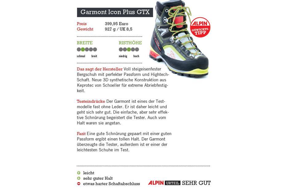 Garmont Icon Plus GTX