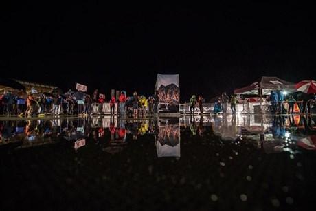 Harte Premiere: Alpen X 100