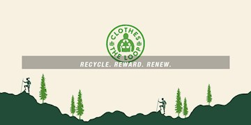 Recyclingprogramm 'Clothes the Loop' von The North Face