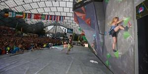 Boulderworldcup: Ab Freitag in München