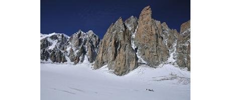 Mont Maudit - Kuffnergrat