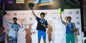 Japaner dominieren beim Boulderworldcup-Finale