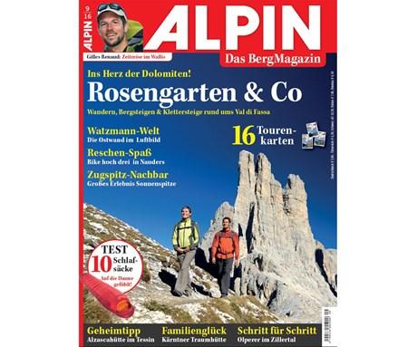 Fotogalerie zu ALPIN 09/2016