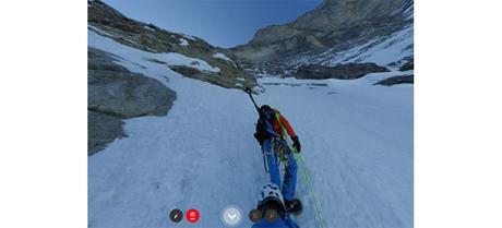 """Mit """"Project360"""" durch die Eiger-Nordwand"""