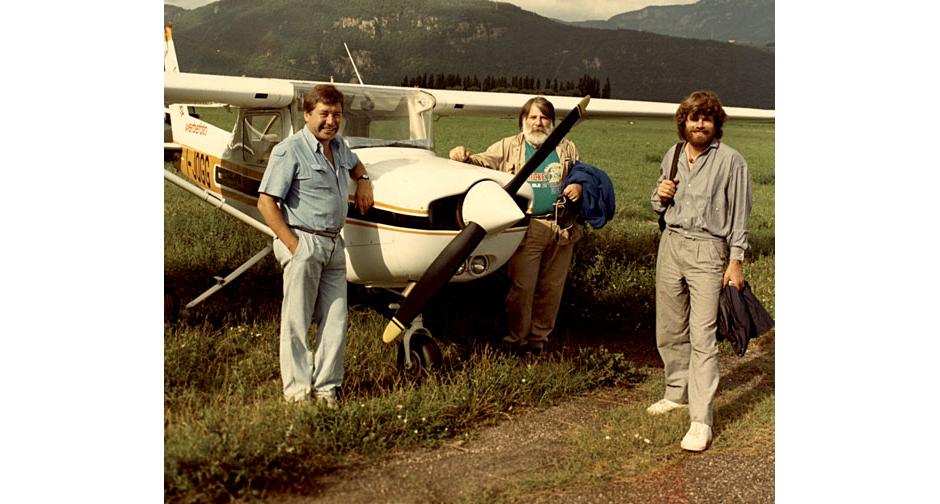 Überflieger Reinhold Messner