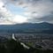 Über Innsbruck braut sich was zusammen.