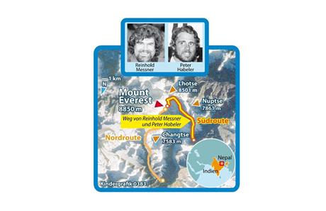 1978: Everest ohne künstlichen Sauerstoff