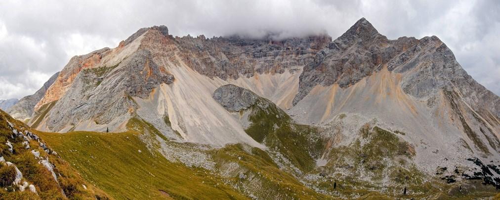 Gewaltiger Bergsturz in den Pragser Dolomiten