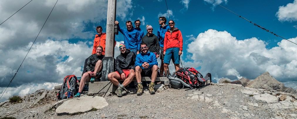 Mammut Alpencross: von Oberstdorf nach Livigno