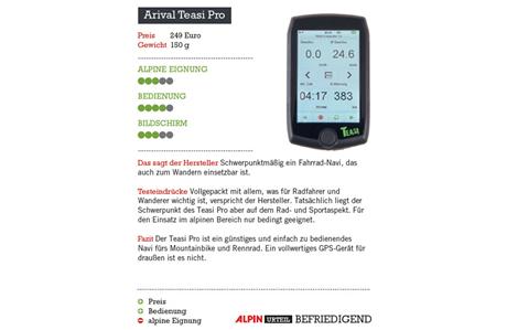 GPS-Geräte: Acht Modelle im Test