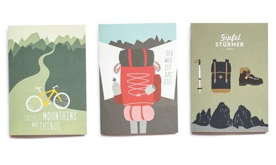 Roadtyping, Cards for globetrotters, Ansichtskarten