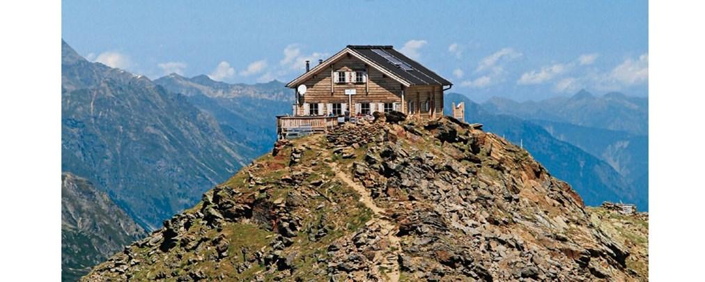 Evamaria und Primus Wecker: Gipfelhütten Ostalpen