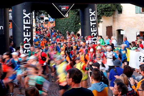 Finale des Gore-Tex Transalpine-Run 2016