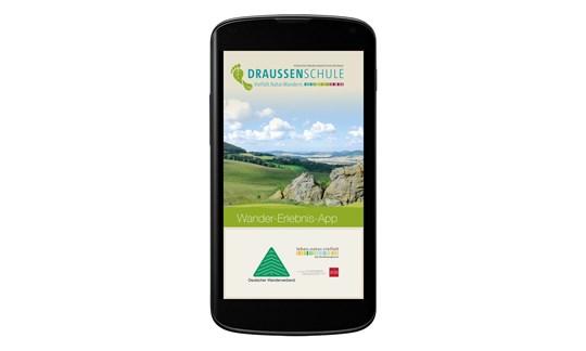 Test, Wander-Erlebnis-App