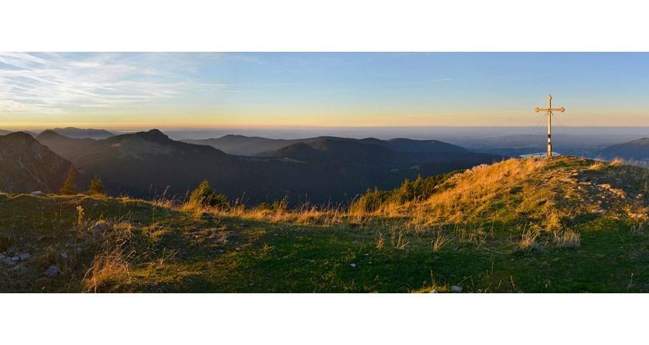 Sonnenuntergang am Hirschberg