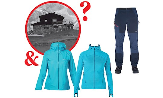 Berghaus-Outfit