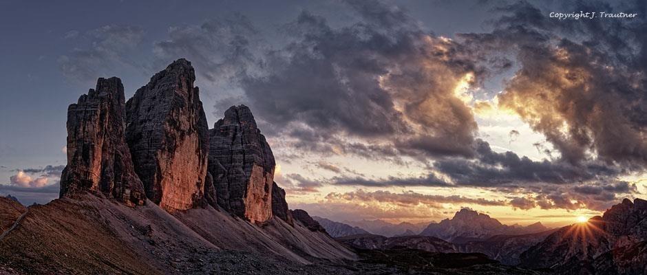 Platz fünf: Die bekanntesten Spitzen der Dolomiten (80 Punkte)
