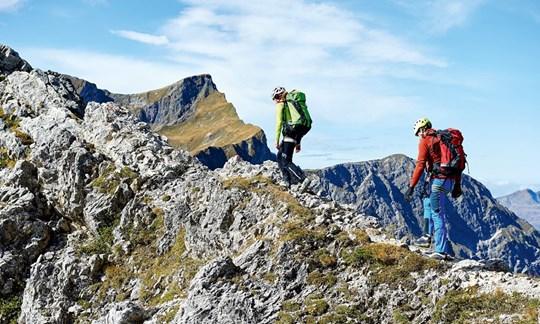 Klettersteig Mindelheimer : Tourentipp mindelheimer klettersteig