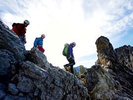 Klettersteig Mindelheimer : Klettersteig mindelheimer bis tages tour