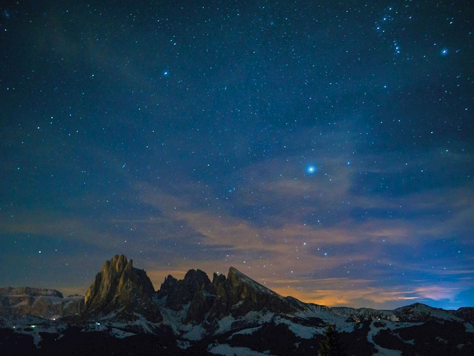 Dezember - Sternenhimmel