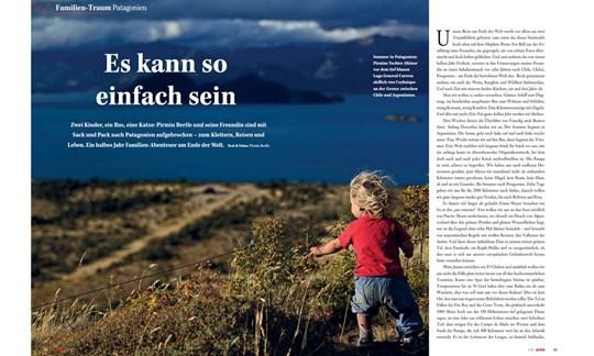 ALPIN-Reportage Familienurlaub Patagonien