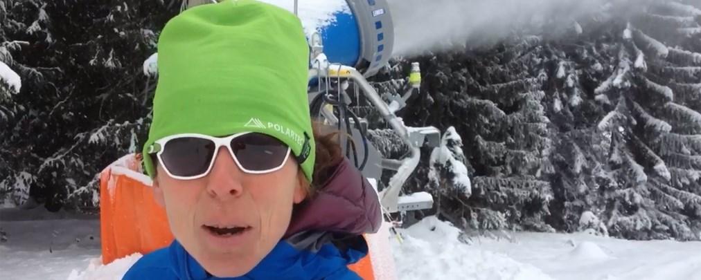 #olafklärtdasschon: Wie viel Wasser verbrauchen Schneekanonen?