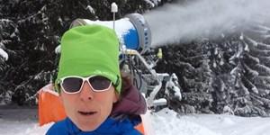 Video: Wasserverbrauch von Schneekanonen