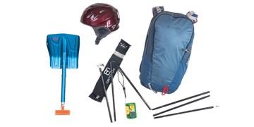 Sicherheitsausrüstung Skitouren