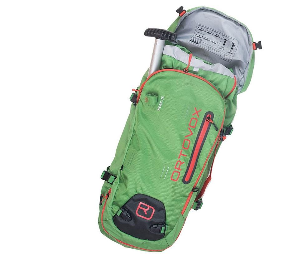 Rucksack inklusive Notfallausrüstung