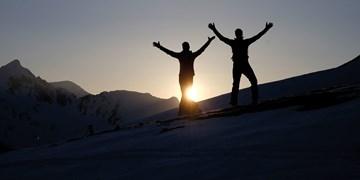 Skitouren auf Pisten, Tirol, Pistentouren