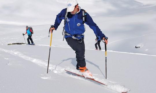 Kickkehre, Skitouren, Technik, Tipps, Know How