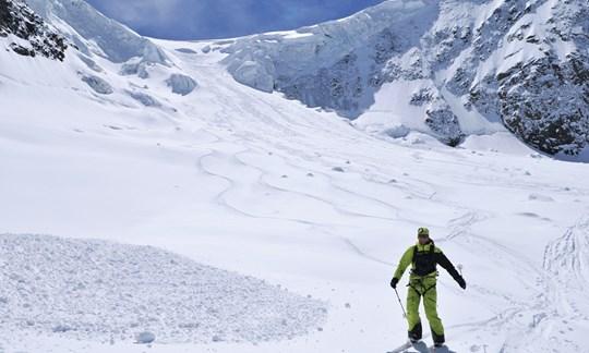 Skitour, Piz Palü, Tourenbeschreibung