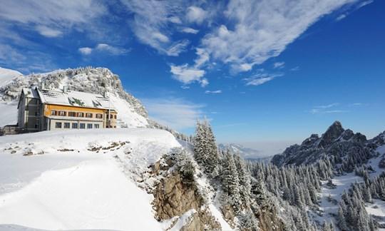 Skitour, Tourenbeschreibung, Rotwand, Reibn