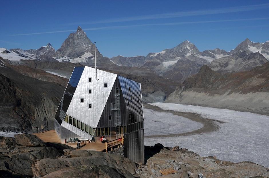 Platz vier (5,36%): Monte Rosa Hütte