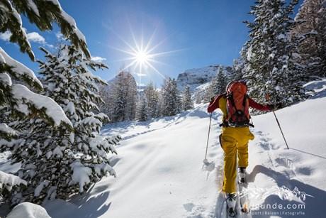 Mit Ski von Bruneck nach Kufstein